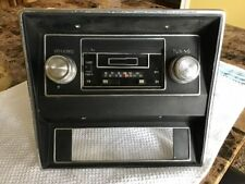 1969 1970 mustang radio  w/bezel and cassette player