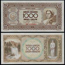 More details for yugoslavia 1000 dinara (p67b) 1946 unc