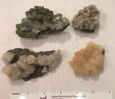 Calcite, Tsumeb, Namibia - Lot of 4 - ~225 grams