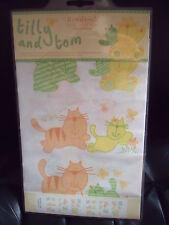 BNIP Readyroll Quicksticks - Nursery Decoration- Tilly & Tom- Cats - 30 stickers