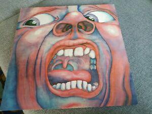 King Crimson - In The Court Of The Crimson King (Vinyl LP - 1972 - UK - Reissue)