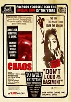 Chaos / Don't Look In The Basement (2018, DVD NEUF) (RÉGION 1)