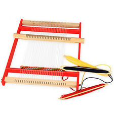 High Quality Portable Wooden Weaving loom Pad Hand Craft Large Size 445×365×35mm