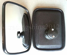 2x WIDE ANGLE MIRROR BLIND SPOT FOR TRUCK LORRY VAN BUS RECOVERY 20.5cm x 15.5cm
