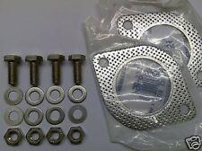Toyota Mr2 SW20 Joints De-Cat Tuyau D'Échappement Kit D'Installation Inox