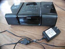 iHome Ipod Dock Model IP9 2 Clock Alarm Radio FM