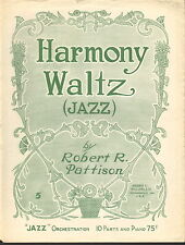 Harmony Waltz by Robert Pattison - 1917