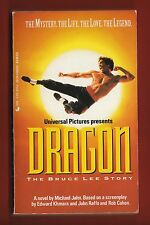 Dragon: The Bruce Lee Story by Michael Jahn (1993, Paperback)