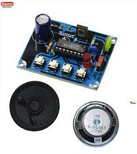 Dampflokgeräusch mit Dampfpfeife und Glocke mit Lautsprecher Kemo Bausatz B207