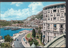Monaco Postcard - Monte-Carlo - The Hotel of Paris and The Harbour  B2366