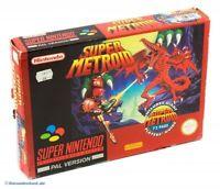 SNES - Super Metroid + Spieleberater mit OVP / Big Box