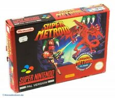 SNES - Super Metroid + Spieleberater mit OVP / Big Box
