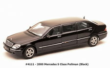 Mercedes S Class Pullman 1998 Black 1:18 Model 4111 SUN STAR