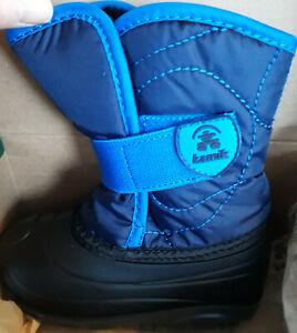 NEW Kamik Toddler Snow Boots (Snow Bug) Size 8