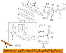 AUDI OEM 10-12 S4 Front Bumper Grille Grill-Spoiler 8K0807110A2ZZ