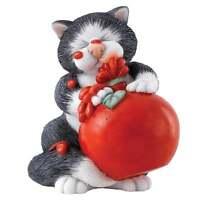Comic & Curious Cats Border Fine Arts Sauce Figurine New Boxed A27685