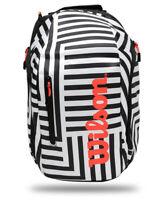 Wilson Super Tour Tennis Backpack Bold Edition Badminton Squash Racquet WR800160