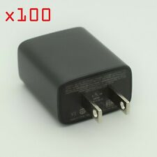 100x 1A USB Power Adapter AC Home Wall Charger US Plug FOR iPhone Samsung Google