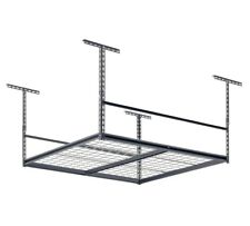 "Muscle Rack LR4848-SV 48""W x 48""D Overhead Garage Adjustable Ceiling Storage"