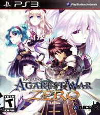 Record of Agarest War Zero (2011) Brand New Factory Sealed USA PlayStation 3 PS3