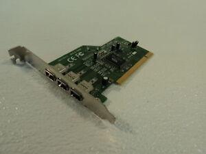 Standard 3 Port Firewire IEEE 1394 PCI Card FW110