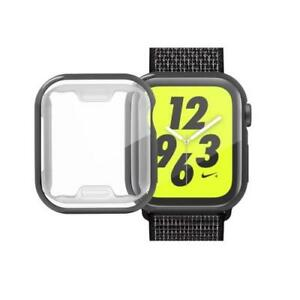 AMZER Full Coverage Plating TPU Case for Apple Watch Series 4 40mm - Black