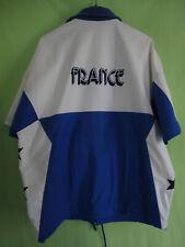 Veste Vintage Adidas Basket Equipe de France Porté 80'S Jacket - 174 / M