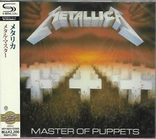 METALLICA MASTER OF PUPPETS 2011 JAPAN RMST SHM HIGH FIDELITY FORMAT CD