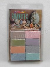 Sculpey Polymer Clay Granitex Stone Colors 8 Sampler Pack 1 oz  Oven Bake G3000