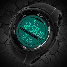Luxury Mens Boys Analog Digital Military Army Sport LED Waterproof Wrist Watch