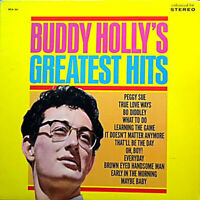 Buddy Holly's Greatest Hits - Vinyl LP Album Stereo - VG+ Plus