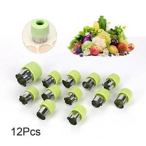12pcs Cookie Mini Shape Cutter Stainless Steel Fruit Vegetable Kid Food Mold Set