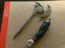 Mattel DC Multiverse BAF Piece #5 Cyborg Steppenwolf Left Arm Axe From Cyborg