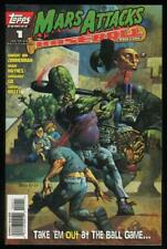 MARS ATTACKS Baseball #1, NM-, Simon Bisley, Aliens, Martians,1996