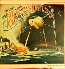 The War Of The Worlds Musical Version Jeff Wayne's Lp Vinyl 33 Giri + Booklet