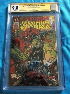 Spider-Man Maximum Clonage: Omega - Marvel - CGC SS 9.8 - Signed by Lyle, Hanna