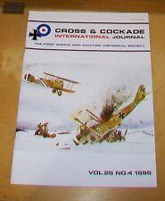 CROSS & COCKADE GREAT BRITAIN JOURNAL VOL 26 No 4 1995 9 & 7 SQN RFC GERMAN ACES