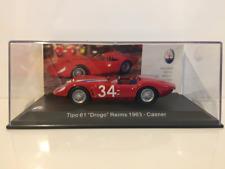 Maserati Tipo 61 Drogo Reims 1963 - Casner 1:43 Escala Nuevo