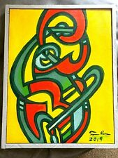 "Tom Cramer ""Musicale"" Acrylic painting - Portland Artist"