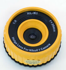 USD - Holga lens HL-N1 YELLOW for Nikon 1 Series Digital Cameras
