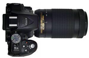 NIKON AF-P Nikkor 70-300mm f/4.5-6.3G ED VR Telephoto Zoom Lens Nikon APS-C