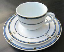 Kaffeeservice Teeservice 10 Gedecke 30 Teile DOMESTIC Porzellan VIENNA BLUE