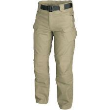 Pantalones de hombre cargamos beige de poliéster