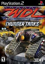 WDL - World Destruction League: Thunder Tanks (PS2 Game)