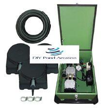 Matala Rocking Piston 1/4 HP Lake/pond Aeration System W/200' Tube 2 Diffusers