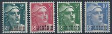 ALGERIA 1945-46 Marianne optd ALGERIE Part Set Mint MNH