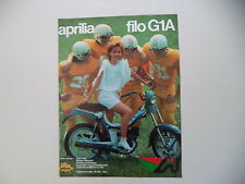 advertising Pubblicità 1983 APRILIA FILO 50 G1A