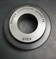 Dyer 16265 Xx Master Setting Ring Starrett Machinist Metrology Bore Gage 1