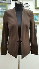 Topshop Patternless Blazer Casual Coats & Jackets for Women