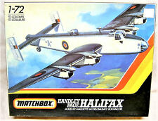 1/72 Matchbox Halifax B Mk I PK-604 w/Falcon Vac Parts/Aerodata Book